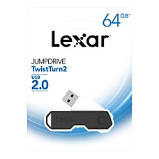 Lexar JumpDrive TwistTurn2 USB 20 Flash