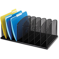Safco Mesh Desk Organizers 8 Compartments