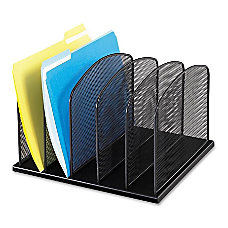 Safco Mesh Desk Organizers 5 Compartments