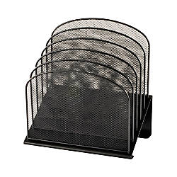 Safco Onyx Mesh 5 Tier Desk