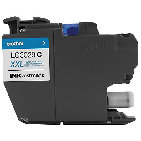 Brother® INKvestment High-Yield Ink Cartridge, Cyan, LC3029C