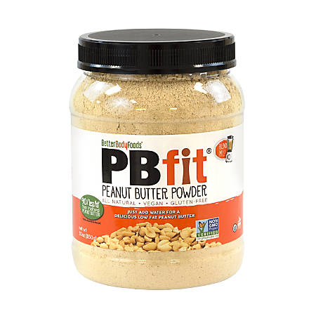 BetterBodyFoods PB Fit Peanut Butter Powder, 30 Oz