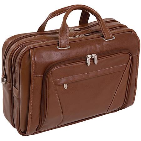 McKleinUSA IRVING PARK McKlein Briefcase, Brown