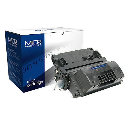 MICR Print Solutions MCR90XM High-Yield MICR Toner Cartridge Replacement For HP CE390X Black