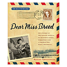 Scholastic Dear Miss Breed