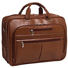 McKleinUSA ROCKFORD McKlein Briefcase Brown