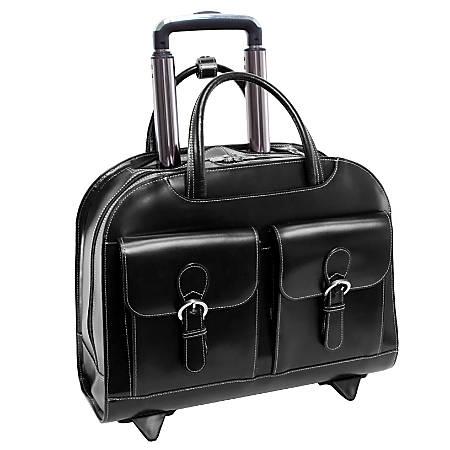 McKleinUSA Davis Briefcase, Black