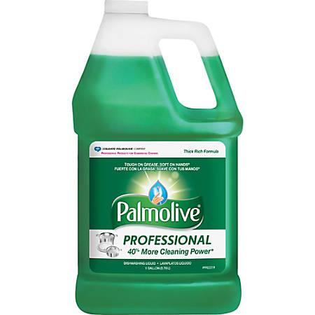 Palmolive Ultra Strength Liquid Dish Soap - Concentrate Liquid - 1 gal (128 fl oz) - 1 Each - Green