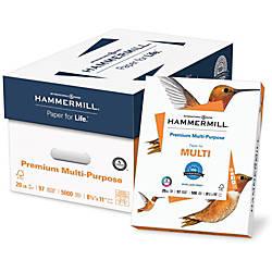 Hammermill Premium Copy Multipurpose Paper Letter