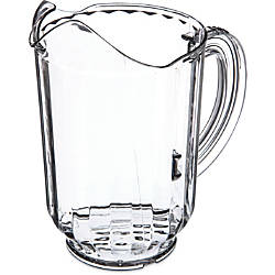 Carlisle VersaPour Pitcher 60 Oz Clear