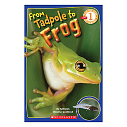 Scholastic Readers: Level 1 From Tadpole To Frog