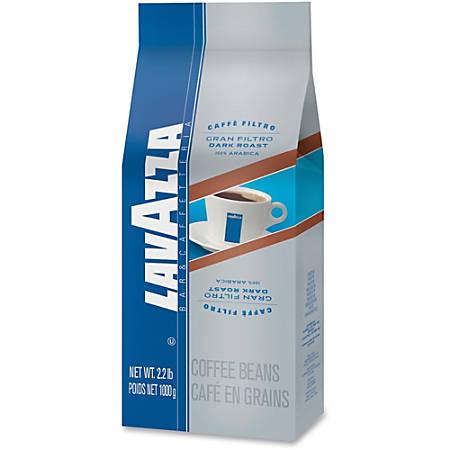 Lavazza Coffee - Regular - Arabica - Dark/Bold - 35.2 oz Per Bag - 1 / Bag