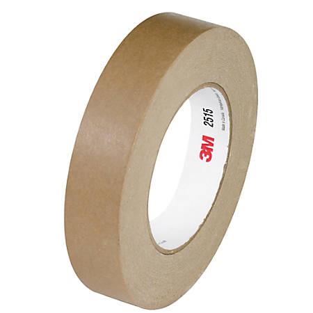 "3M™ 2515 Flatback Tape, 3"" Core, 0.75"" x 60 Yd., Tan, Case Of 12"