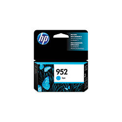 HP 952 Cyan Ink Cartridge L0S49AN140