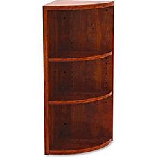 Lorell Essentials Series Corner Bookcase 3