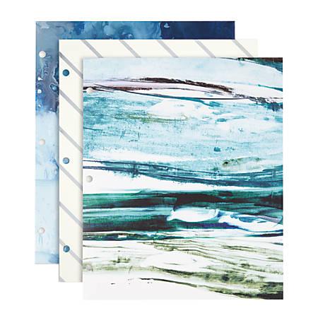 """Divoga® Fresh Air Folder, 8 1/2"""" x 11"""", Assorted Designs (No Design Choice)"""