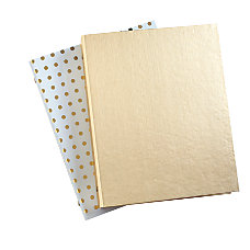 Divoga Gold Struck Mini Binder 1