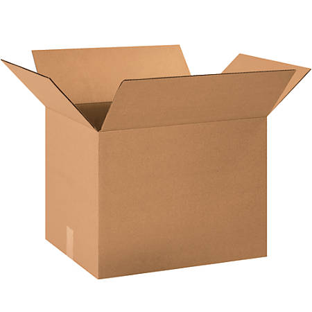 """Office Depot® Brand Corrugated Boxes, 30""""H x 30""""W x 40""""D, 15% Recycled, Kraft, Bundle Of 10"""