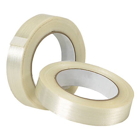 """Tape Logic® 1400 Strapping Tape, 3/4"""" x 60 Yd., Clear, Case Of 12"""