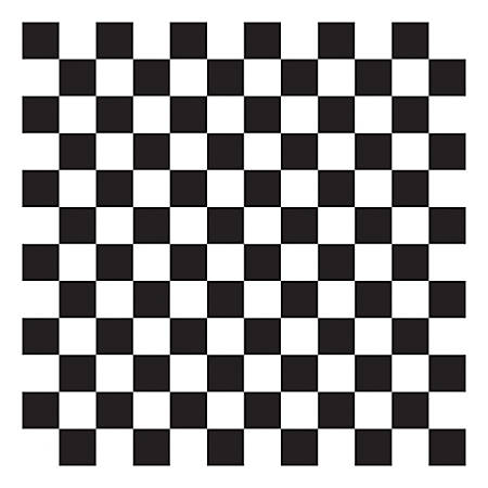"McNairn Wax Basket Liners, 12"" x 12"", Black Checkered, 2,000 Sheets"
