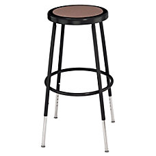 National Public Seating Adjustable Hardboard Stool