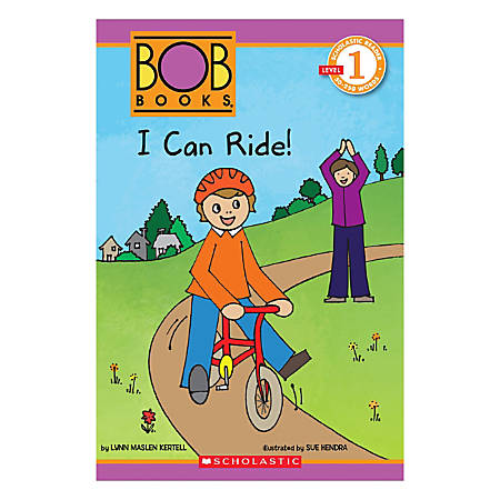 Scholastic Readers Bob Books I Can Ride, Level 1