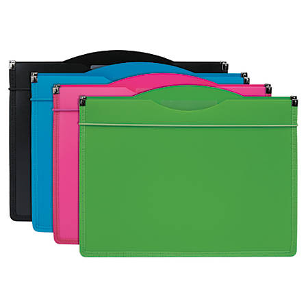 "Office Depot® Brand 7-Pocket Expanding File, 1"" Expansion, Letter Size, Assorted Colors"