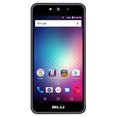 BLU Grand Energy G130Q Cell Phone, Black, PBN201220
