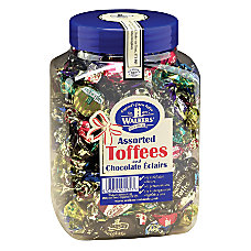 Office Snax Assorted Royal Toffees Jar