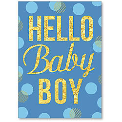 Viabella New Baby Boy Greeting Card