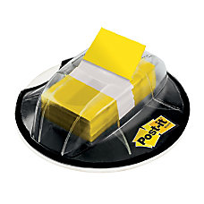 Post it Flags Desk Grip Dispenser