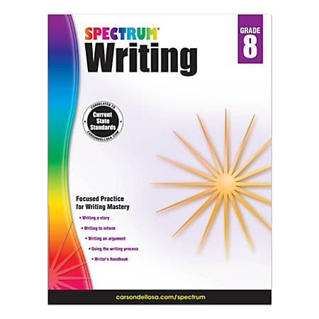 Spectrum Writing, Grade 8