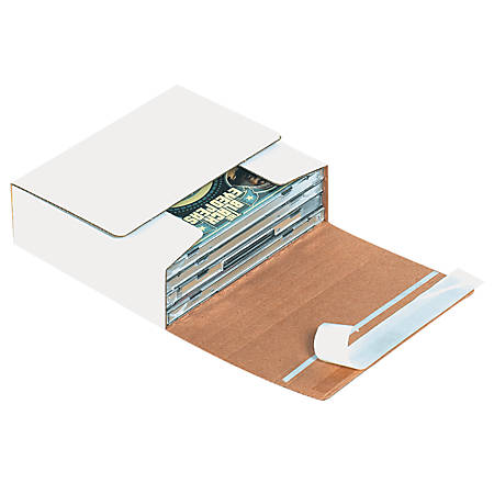 """Office Depot® Brand CD Mailers, 5 3/4"""" x 5 1/16"""" x 1 3/4"""", Holds 1-4 CDs, Pack Of 200"""