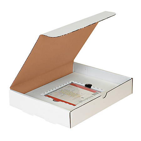 """Office Depot® Brand White Single CD Literature Mailers, 11 1/8"""" x 8 3/4"""" x 3"""", Pack Of 50"""
