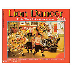 Scholastic Lion Dancer Ernie Wans Chinese
