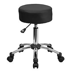 Flash Furniture Medical Ergonomic Stool BlackSilver