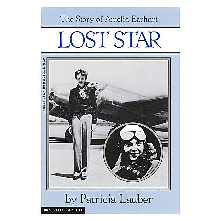 Scholastic Lost Star: The Story Of Amelia Earhart