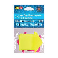 Redi Tag Super size Neon Arrow