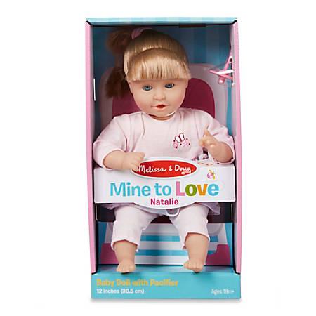 "Melissa & Doug Pretend Play Educational Toys, Natalie 12"" Doll"