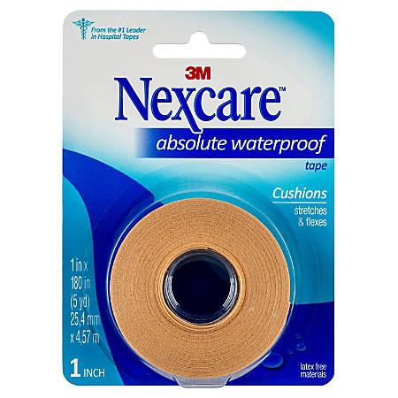 "Nexcare Waterproof Tape, 1"" x 180"""