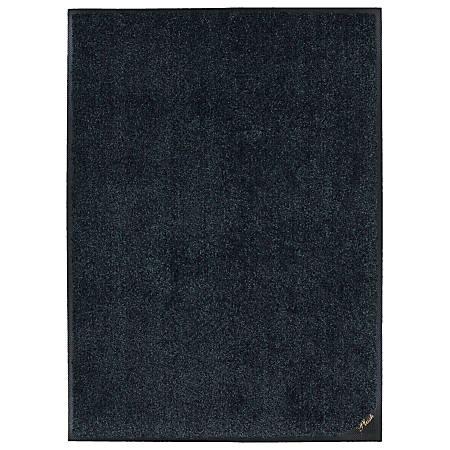 "M + A Matting  Colorstar Plush Floor Mat, 36"" x 48"", Slate Gray"