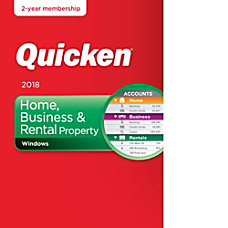Quicken Home Business And Rental Property