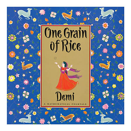 Scholastic One Grain Of Rice: A Mathematical Folktale