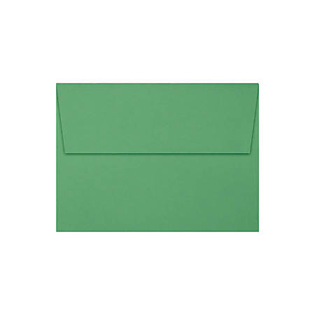 """LUX Invitation Envelopes With Peel & Press Closure, A6, 4 3/4"""" x 6 1/2"""", Holiday Green, Pack Of 250"""