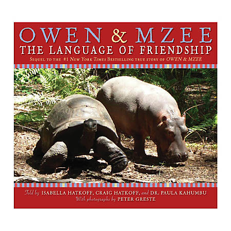 Scholastic Owen And Mzee: The Language Of Friendship