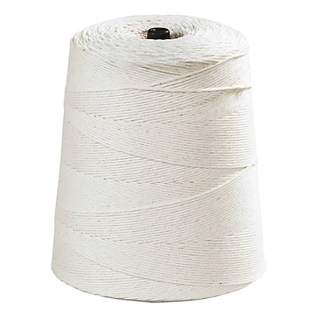 Office Depot® Brand Cotton Twine, 16-Ply, 40 Lb, 3,100', White