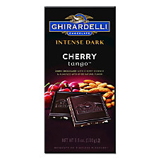 Ghirardelli Intense Dark Chocolate Cherry Tango