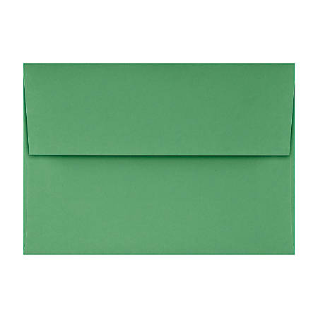 """LUX Invitation Envelopes With Peel & Press Closure, A1, 3 5/8"""" x 5 1/8"""", Holiday Green, Pack Of 1,000"""