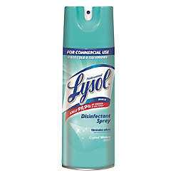 Lysol Professional Disinfectant Spray Crystal Waters