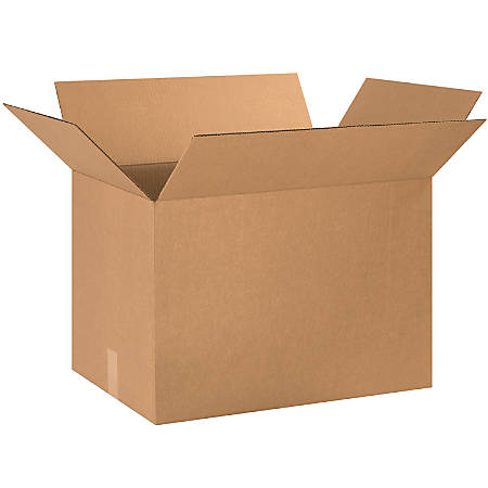 "Office Depot® Brand Corrugated Cartons, 24"" x 16"" x 16"", Kraft, Pack Of 10"